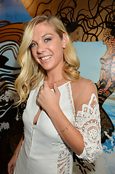 CHELSY DAVY at the launch of AYA jewellery by Chelsy Davy held at Baar & Bass, 336 Kings Road, London on 21st June 2016.