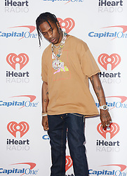 September 24, 2017 - Las Vegas, Nevada, United States of America - Rapper Travis Scott  attends the  2017 iHeart Radio Music Festival on  September 23, 2017  at the T-Mobile Arena in Las  Vegas , Nevada (Credit Image: © Marcel Thomas via ZUMA Wire)
