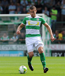 Jakub Sokalik of Yeovil Town - Photo mandatory by-line: Harry Trump/JMP - Mobile: 07966 386802 - 22/08/15 - SPORT - FOOTBALL - Sky Bet League Two - Yeovil Town v Luton Town - Huish Park, Yeovil, England.