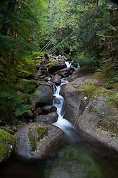 Little Marten Falls, Taylor River Road, Mt. Baker Snoqualmie National Forest, Washington, US
