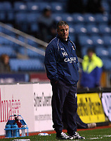 Photo: Rich Eaton.<br /> <br /> Coventry City v Bristol City. The FA Cup. 16/01/2007. Micky Adams, the Coventry City manager watches his team lose 2-0 at home