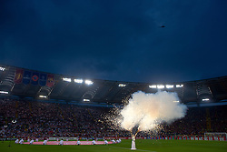 ROME, ITALY - Tuesday, May 26, 2009: The opening ceremony of the UEFA Champions League Final at the Stadio Olimpico. (Pic by Carlo Baroncini/Propaganda)