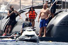 Formentera: Cristiano Ronaldo & Girlfriend on holiday - 9 July 2017