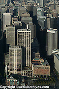 aerial photograph of One Market Plaza, Spear Street tower, Steuart Street tower, the Southern Pacific Building (the Landmark) and One California Street, San Francisco, California