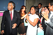 l to r: Rev. Al Sharpton and Sherie Shepard at Rev. Al Sharpton's 55th Birthday Celebration and his Salute to Women on Distinction held at The Penthouse of the Soho Grand on October 6, 2009 in New York City