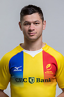CLUJ-NAPOCA, ROMANIA, FEBRUARY 27: Romania's national rugby player Catalin Fercu pose for a headshot, on February 27, 2018 in Cluj-Napoca, Romania. (Photo by Mircea Rosca/Getty Images)