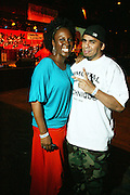l to r: Toni Blackmon and Immortal Technique at The 2008 Black August Benefit Concert held at BB Kings on August 31, 2008..2008 begins the second decade of Black August Hip Hop Project benefit concerts which assist and support Political Prisoners. The Malcolm X Grassroots Movement is an organization whose mission is to defend the human rights of people and promote self-determination in our community.
