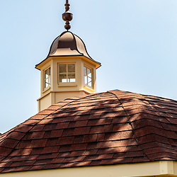 New Freedom, PA – June 25, 2016: A Cupola on a gazebo in New Freedom.