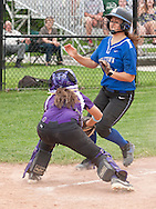 Middletown, New York - Middletown plays Warwick in a varsity girls' softball game on May 27, 2014.