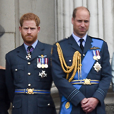 Prince William & Prince Harry - 25 Oct 2019