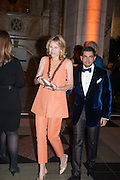 BRONWYN COSGRAVE; FRANCIS SULTANA, Hollywood Costume gala dinner, V and A. London. 16 October 2012