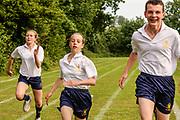 Sports day. Hockerill Anglo-European College, Bishop's Stortford.