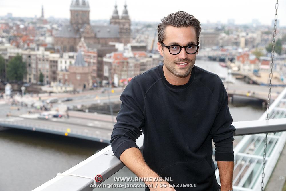 NLD/Amsterdam/20151005 - Boekpresentatie Een schitterend Ongeluk van Inge Ipenburg, Jan Kooijman
