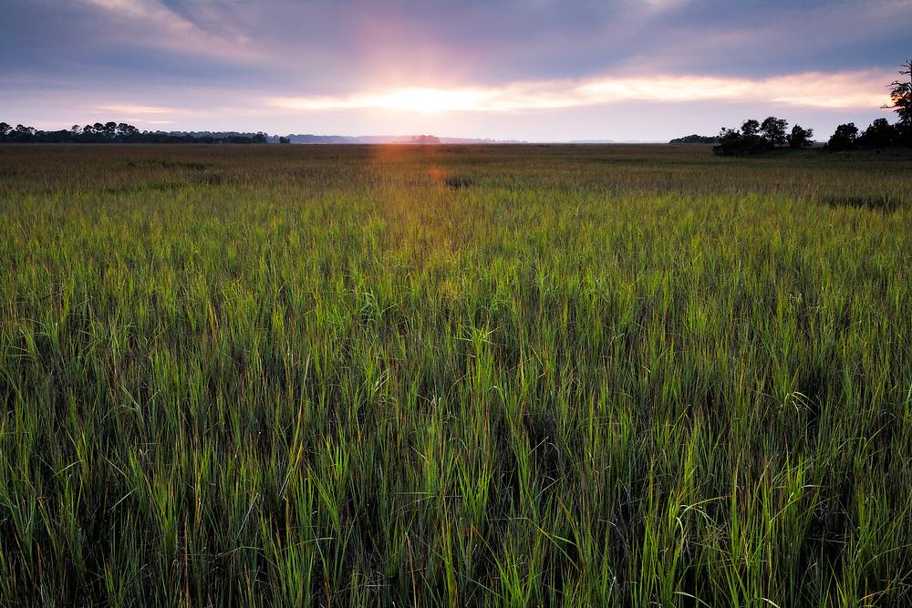 Sunset, Hunting Island