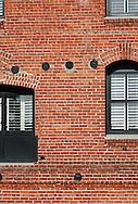 Brick and window abstract-- San Franscisco, CA