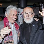 NLD/Hilversum/20150102 - Top40 viert 50 jarig bestaan, Ben Cramer en Pierre Kartner