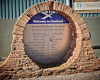 Gone to See Europe - Greenock Weather Forecasting Stone. Semester at Sea, Summer Semester Voyage. Image taken with a Leica X2 camera (ISO 100, 24 mm, f/5, 1/640 sec).