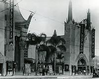1929 Grauman's Chinese Theater