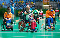 20160910 Copyright onEdition 2016©<br /> Free for editorial use image, please credit: onEdition<br /> <br /> Boccia Athlete Nigel Murray MBE, (Individual - BC2 - Mixed) from Whitnash, Leamington Spa,  competing for ParalympicsGB at the Rio Paralympic Games 2016.<br />  <br /> ParalympicsGB is the name for the Great Britain and Northern Ireland Paralympic Team that competes at the summer and winter Paralympic Games. The Team is selected and managed by the British Paralympic Association, in conjunction with the national governing bodies, and is made up of the best sportsmen and women who compete in the 22 summer and 4 winter sports on the Paralympic Programme.<br /> <br /> For additional Images please visit: http://www.w-w-i.com/paralympicsgb_2016/<br /> <br /> For more information please contact the press office via press@paralympics.org.uk or on +44 (0) 7717 587 055<br /> <br /> If you require a higher resolution image or you have any other onEdition photographic enquiries, please contact onEdition on 0845 900 2 900 or email info@onEdition.com<br /> This image is copyright onEdition 2016©.<br /> <br /> This image has been supplied by onEdition and must be credited onEdition. The author is asserting his full Moral rights in relation to the publication of this image. Rights for onward transmission of any image or file is not granted or implied. Changing or deleting Copyright information is illegal as specified in the Copyright, Design and Patents Act 1988. If you are in any way unsure of your right to publish this image please contact onEdition on 0845 900 2 900 or email info@onEdition.com