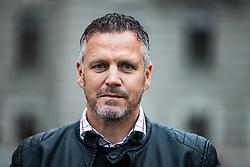 Portrait of Saso Gajser, Slovenian football coach and former player, on May 6, 2021 in Ljubljana, Slovenia. Photo by Matic Klansek Velej / Sportida