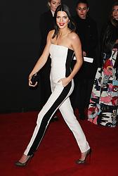 Kendall Jenner, The British Fashion Awards 2014, The London Coliseum, London UK, 01 December 2014, Photo By Brett D. Cove © Licensed to London News Pictures. 02/12/2014. Brett D Cove/PIQ/LNP