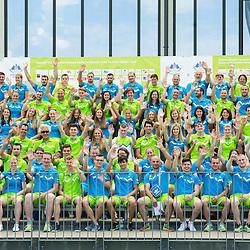 20150604: SLO, Olympic games - Team Slovenia for European Games in Baku