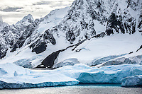Gorgeous landscapes of the Lemaire Channel, Antarctica.