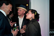 BOB AND ROBERTA SMITH; JESSICA VOOSANGER, Art Plus Music Party 2010. Whitechapel art Gallery.  To raise money for the gallery';s education and community programme. 22 April 2010.