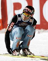Hopp, ZAKOPANE 28/01/2006<br /> Bjørn Einar Romøren soars in the air during the  15th World Cup Ski Jumping competition in Zakopane  southern Poland Saturday  Jan. 28, 2006. <br /> PHOTO: Piotr Hawalej , Digitalsport