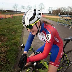 11-01-2020: Wielrennen: NK Veldrijden: Rucphen <br />Carmen van der Veen