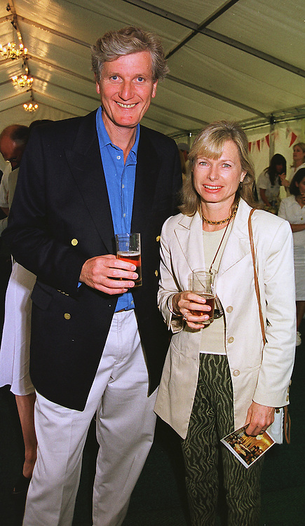 MR & MRS BOB WILLIS he was the former England cricket captain, at a cricket match in London on 14th June 1999.MTE 44