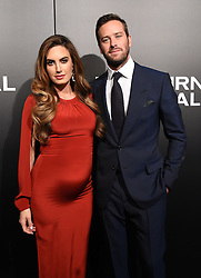 The cast of 'Nocturnal Animals' attend a special screening of the Tom Ford film in Los Angeles. 11 Nov 2016 Pictured: Armie Hammer, Elizabeth Chambers. Photo credit: American Foto Features / MEGA TheMegaAgency.com +1 888 505 6342