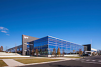 Architectural Exterior image of Hillcrest II Lobby at ArborCrest in Blue Bell Pennsylvania by Jeffrey Sauers of Commercial Photographics