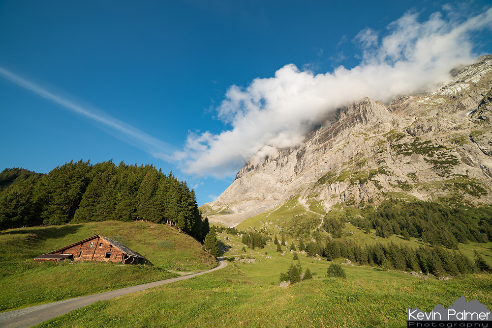 Grindelwald is a small village in the Bernese Alps of Switzerland. It's hard to take a bad picture here with towering snow-capped peaks, grassy pastures, and rustic barns everywhere.