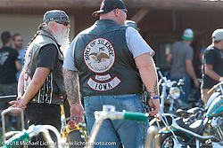 Slider Gilmore at the Sportster Showdown Bike Show presented by Led Sled and Biltwell at the Buffalo Chip during the 78th annual Sturgis Motorcycle Rally. Sturgis, SD. USA. Tuesday August 7, 2018. Photography ©2018 Michael Lichter.