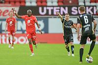 Fotball, 10. juli 2020, Eliteserien, Brann-Tromsø - Simba Yttergård Jenssen