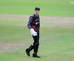 Ryan Davies of Somerset looks on.  - Mandatory by-line: Alex Davidson/JMP - 15/07/2016 - CRICKET - Cooper Associates County Ground - Taunton, United Kingdom - Somerset v Middlesex - NatWest T20 Blast