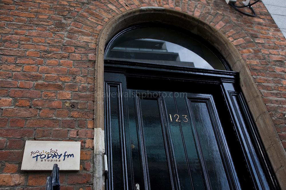 Former Today FM Studio on Dublin's Abbey Street.