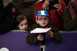 Young fans look out for autographs at the 2020 Omloop Het Nieuwsblad - Elite Women, a 122.9 km road race from Gent to Ninove, Belgium on February 29, 2020. Photo by Sean Robinson/velofocus.com