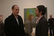 Harry Blain and Elliott Macdonald Martin Kippenberger, Tate Modern. 7 Febriuary 2006. -DO NOT ARCHIVE-© Copyright Photograph by Dafydd Jones 66 Stockwell Park Rd. London SW9 0DA Tel 020 7733 0108 www.dafjones.com