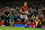 Liam Williams of Wales in action. RBS Six Nations 2017 international rugby, Wales v Ireland at the Principality Stadium in Cardiff , South Wales on Friday 10th March 2017.  pic by Andrew Orchard, Andrew Orchard sports photography