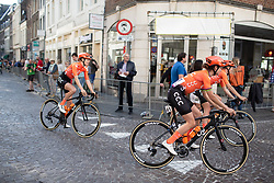 Marianne Vos (NED) of CCC-Liv Team rides to the sign-on before the Amstel Gold Race - Ladies Edition - a 126.8 km road race, between Maastricht and Valkenburg on April 21, 2019, in Limburg, Netherlands. (Photo by Balint Hamvas/Velofocus.com)