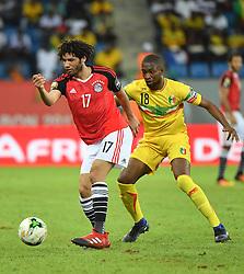 January 18, 2017 - France - Egypte - M. Elneny vs S. Sow - Mali (Credit Image: © Panoramic via ZUMA Press)