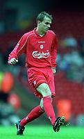 Dietmar Hamann (Liverpool) Liverpool v Parma, Pre-Season Friendly, 13/08/2000. Credit: Colorsport / Matthew Impey