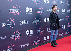 Judges photocall at Edinburgh International Film Festival<br /> <br /> Pictured: Ana Ularu, Actor (Michael Powell Jury)