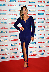 Rhea Bailey attending the Inside Soap Awards 2016 held at The Hippodrome Casino in London.