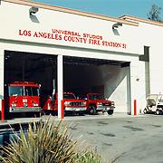 Reis Amerika, Los Angeles Universal Studio fire station 51