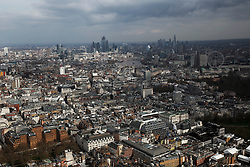 UK LONDON 23MAR19 - Aerial view of the London skyline, seen from Westminster, central London.<br /> <br /> <br /> <br /> jre/Photo by Jiri Rezac/ Led By Donkeys