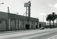 1973 Roller Bowl on Sunset Blvd. & Bronson Ave.
