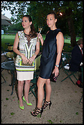 MELISSA MILLS; SASKIA WINBERGH, Cartier dinner in celebration of the Chelsea Flower Show. The Palm Court at the Hurlingham Club, London. 19 May 2014.